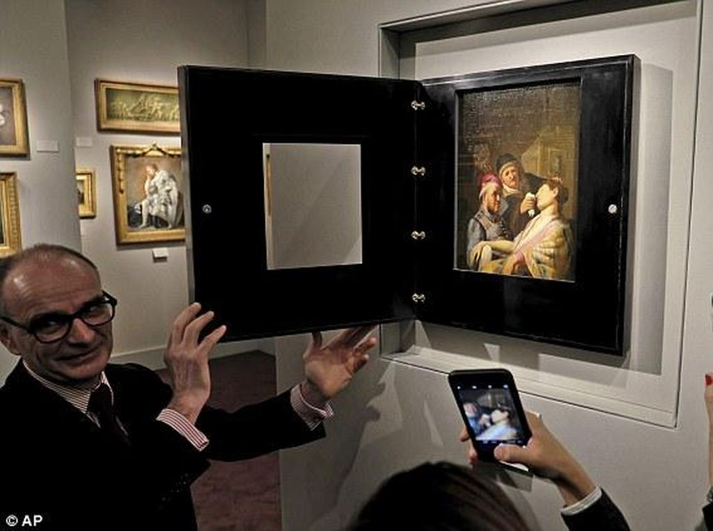 Pertama Kali! Lukisan Zaman Keemasan Belanda Mendarat di Abu Dhabi