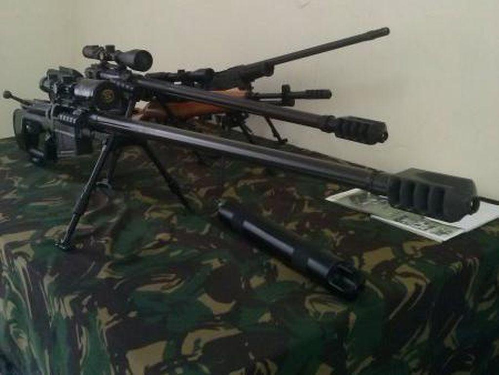 Senapan Sniper Buatan Pindad Tak Kalah dengan Produk Asing