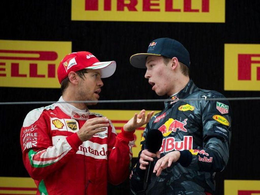 Vettel: Kvyat Diganti Bukan karena Insiden di Sochi