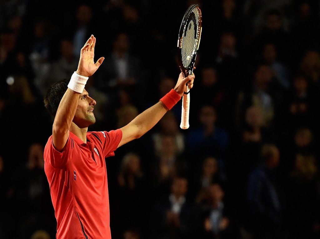 Sempat Kalah Bagel, Djokovic Lolos untuk Jumpa Nadal