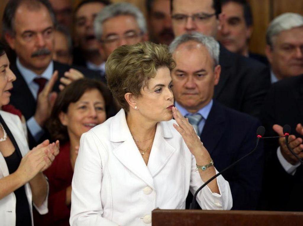 Dinonaktifkan dari Jabatan Presiden Brasil, Dilma Rousseff: Ini Kudeta!