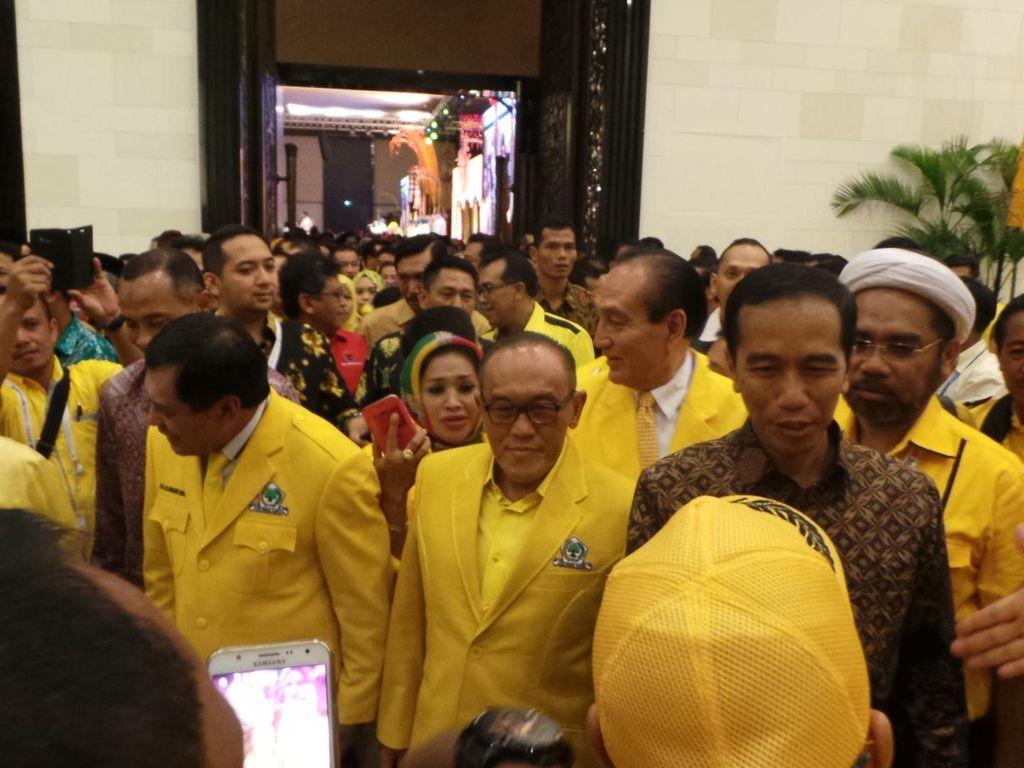 Harapan Novanto agar Golkar Konsisten Dukung Jokowi