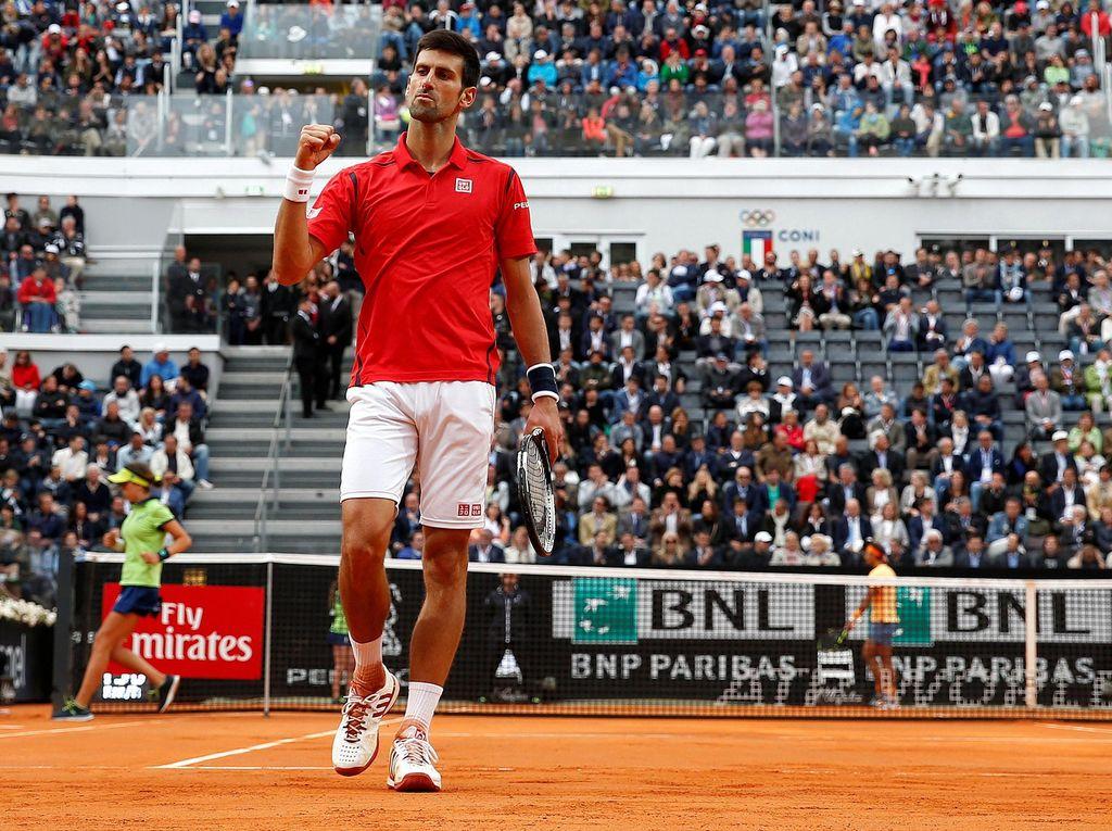 Kalahkan Nadal, Djokovic ke Semifinal Roma Masters
