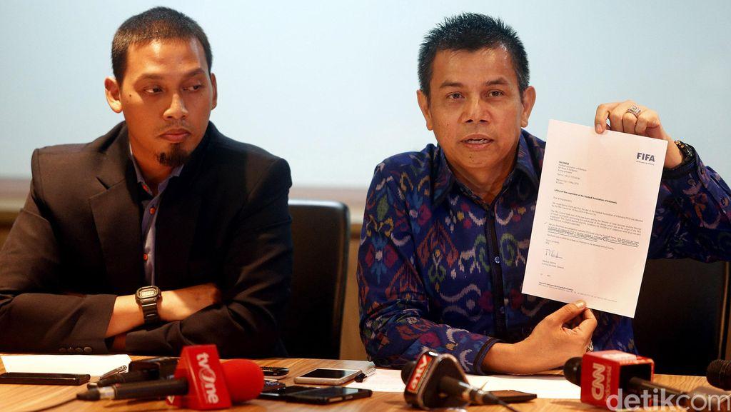 PSSI Bersyukur Atas Pencabutan Sanksi Oleh FIFA