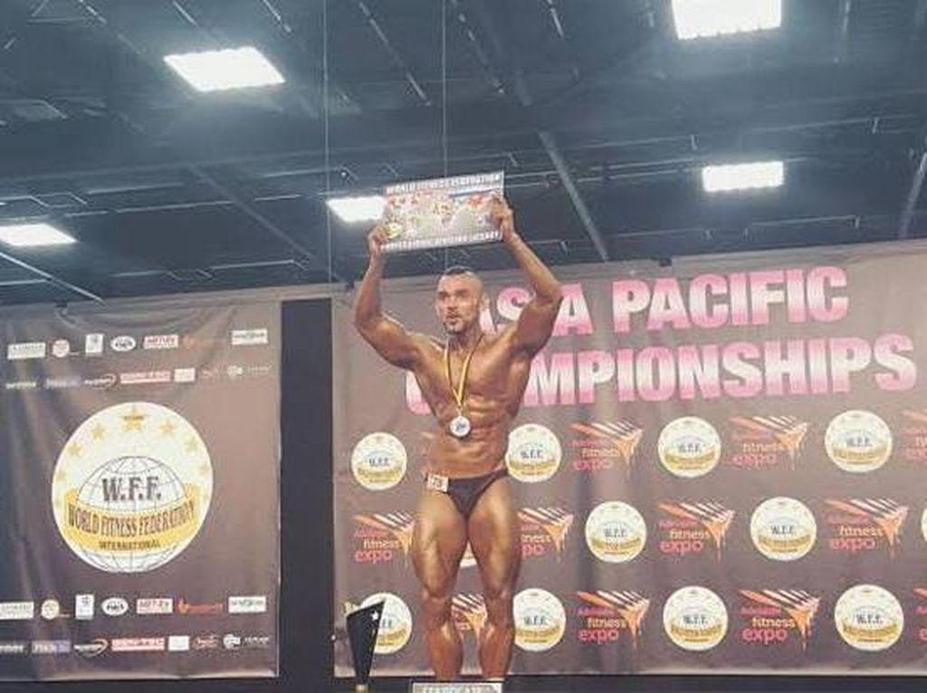 Usai Juara di Australia, Binaragawan Indonesia Ini Tembus Level Dunia
