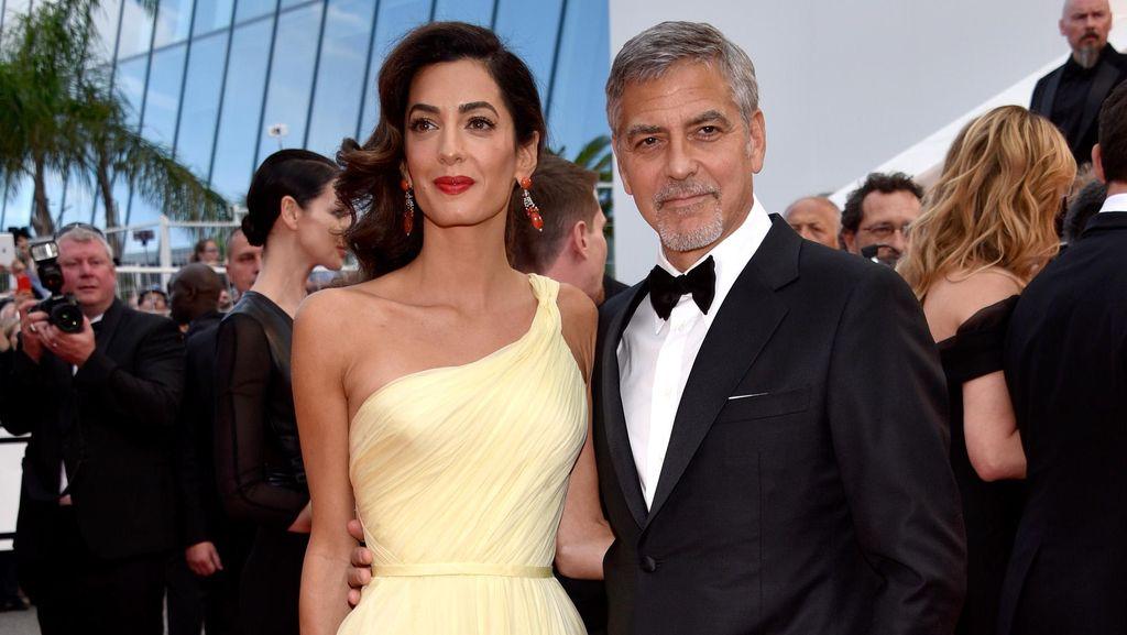 Rayakan 2 Tahun Pernikahan, George Clooney dan Amal Balas Cibiran Haters