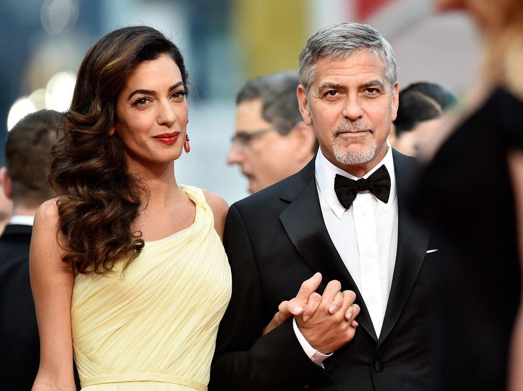 Amal Alamuddin Segera Lahirkan Anak Kembar, George Clooney Gugup
