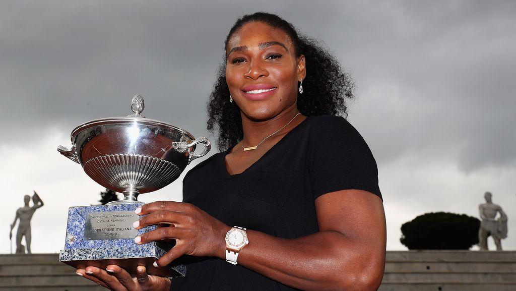 Serena Kandaskan Madison Keys untuk Rebut Trofi Juara
