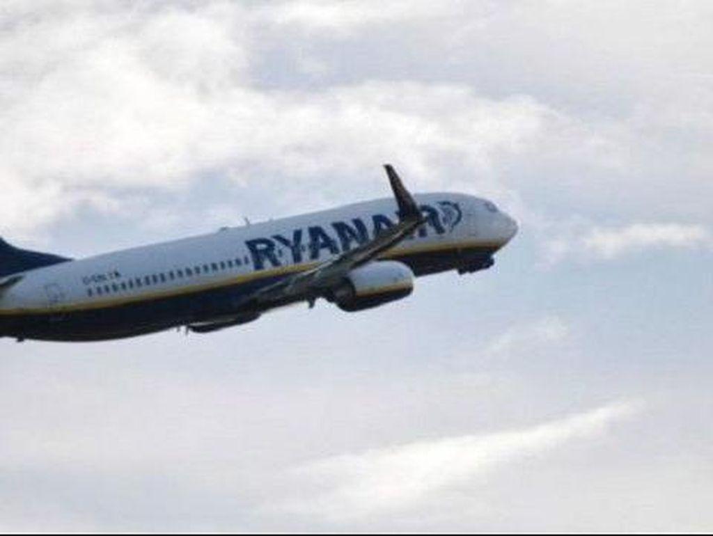 Naik Pesawat Serasa Seperti di Neraka