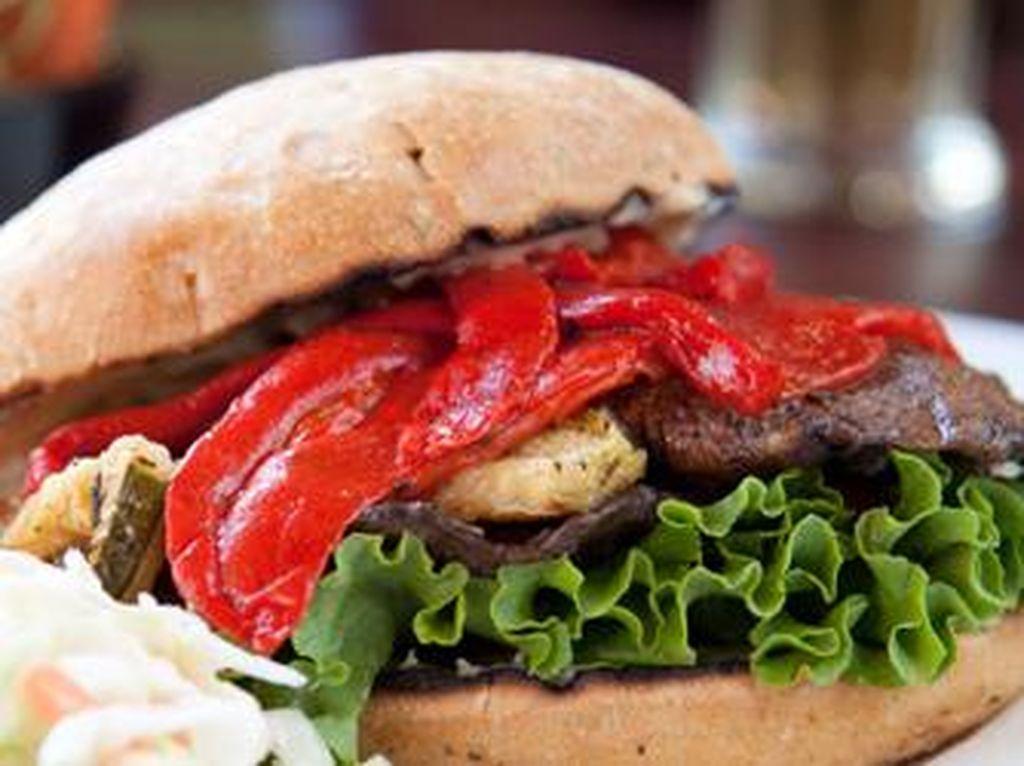 Keren! Burger Nabati Ini Diciptakan dengan Perhitungan Algoritma