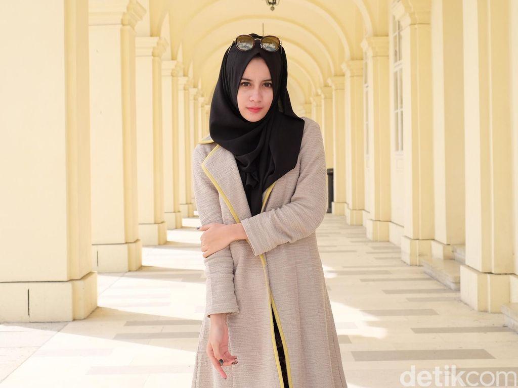 Aghnia Punjabi, Beli Mobil Sendiri dari Penghasilan Sebagai Selebgram Hijab