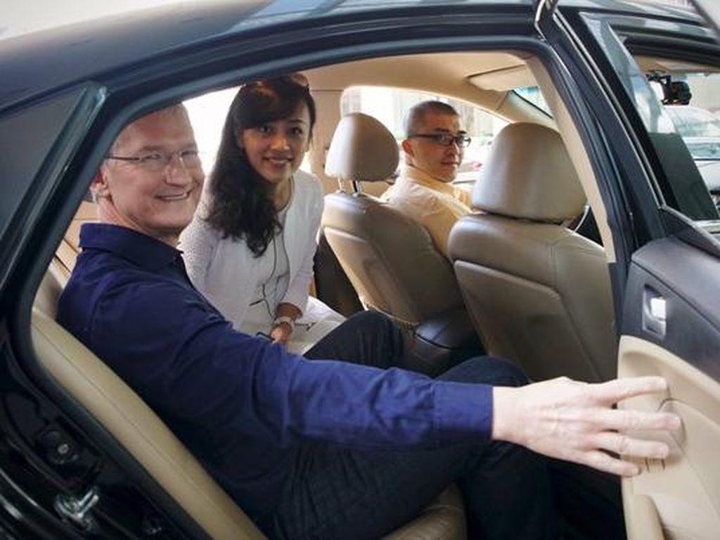 Pemerintah China Sikat Aplikasi Raksasa Taksi Online, Kenapa?