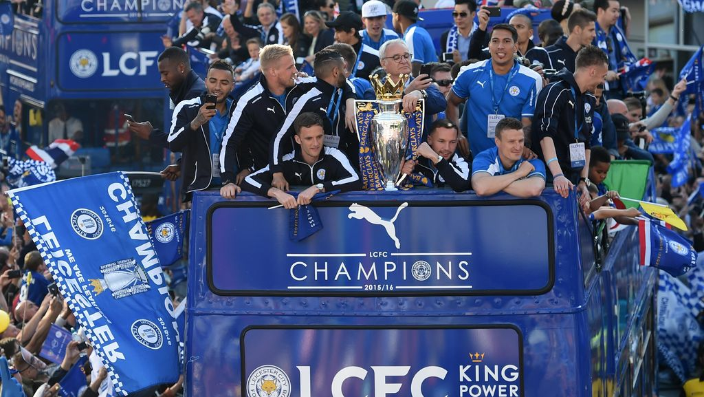 Parade Juara Leicester City