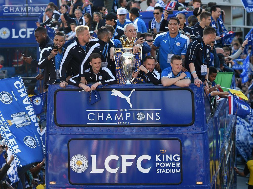 Parade Juara Leicester City
