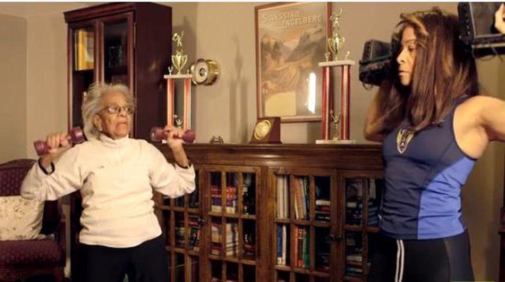 Si Wonder Woman Ida Keeling, Pelari Bugar di Usia 102 Tahun