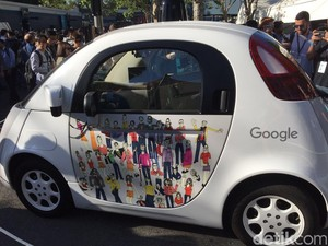 Mobil Otonom Mungil Google Ini Tak Dipakai Lagi