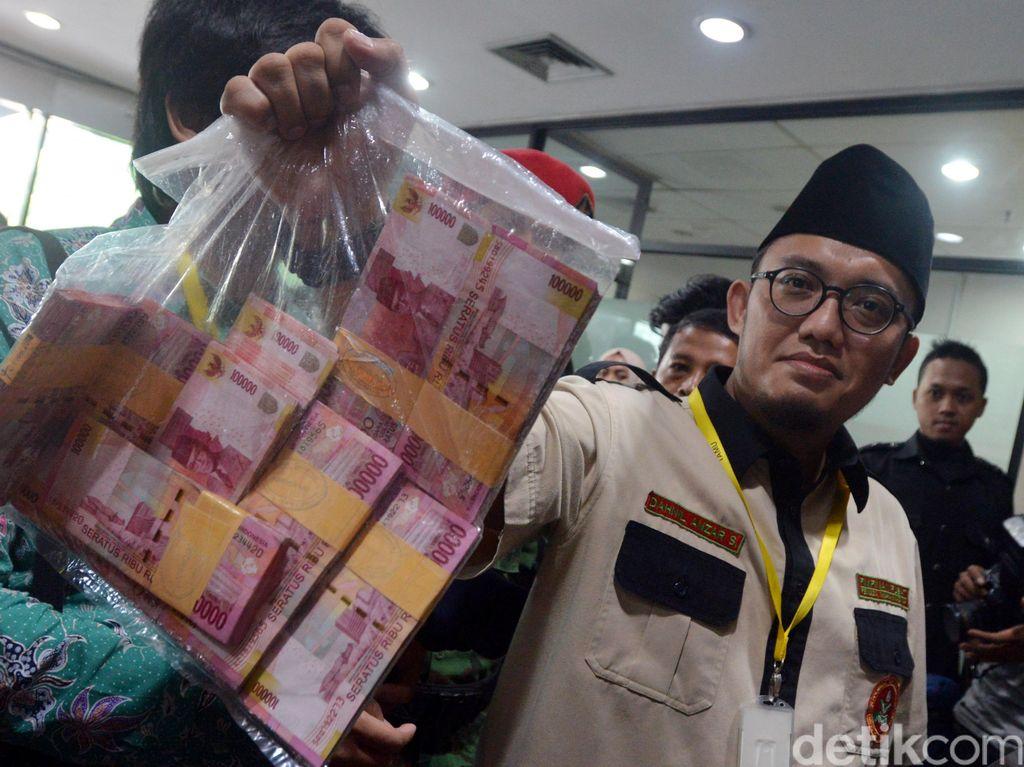 Uang Rp 100 juta dari Densus 88 Diserahkan ke KPK, Ini Tanggapan Polri