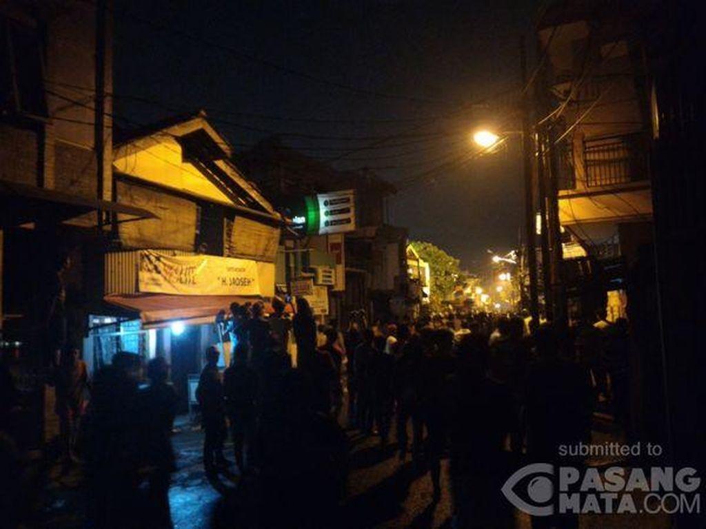 Polisi Bubarkan Tawuran Antarwarga di Johar Baru Jakarta Pusat