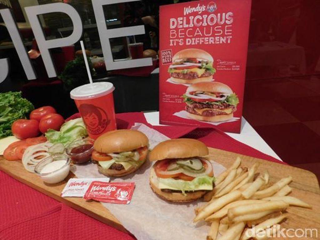 Wendys Perkenalan Burger Andalan dengan Resep Legendaris Dave Thomas
