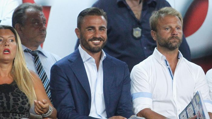 NAPLES, ITALY - AUGUST 30: Fabio Cannavaro during the Serie A match between SSC Napoli and UC Sampdoria at Stadio San Paolo on August 30, 2015 in Naples, Italy.  (Photo by Maurizio Lagana/Getty Images)