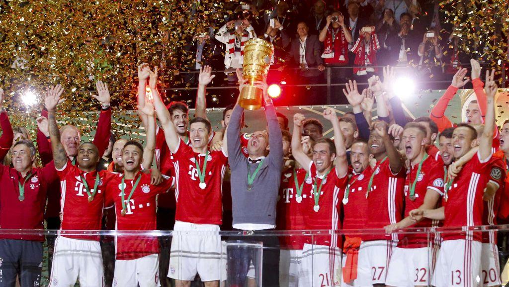 Kalahkan Dortmund, Bayern Juara DFB-Pokal