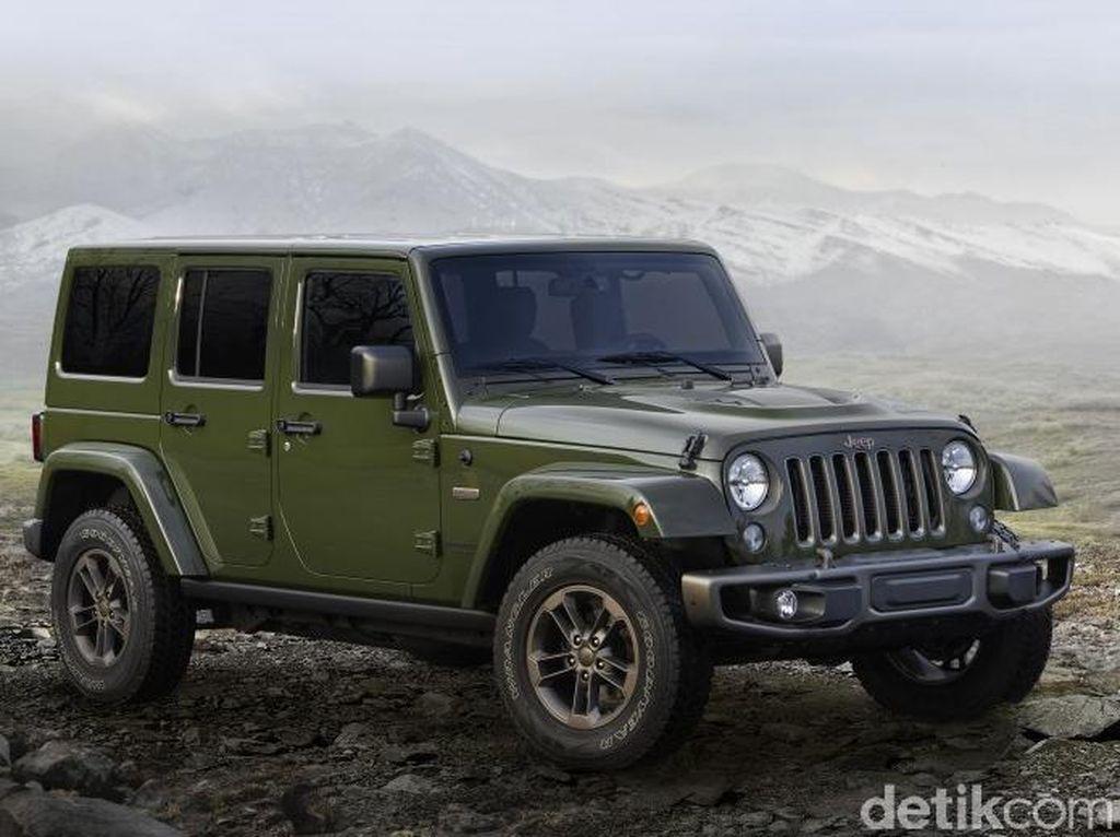 Masalah Mesin, FCA Akan Recall Sejuta Mobil Termasuk Jeep