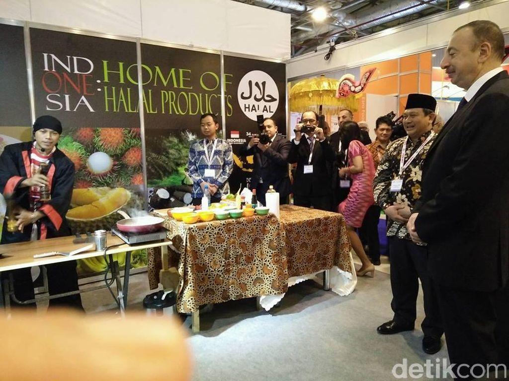 Indonesia Raih Best Customer Attraction di Ajang World Food Azerbaijan 2016