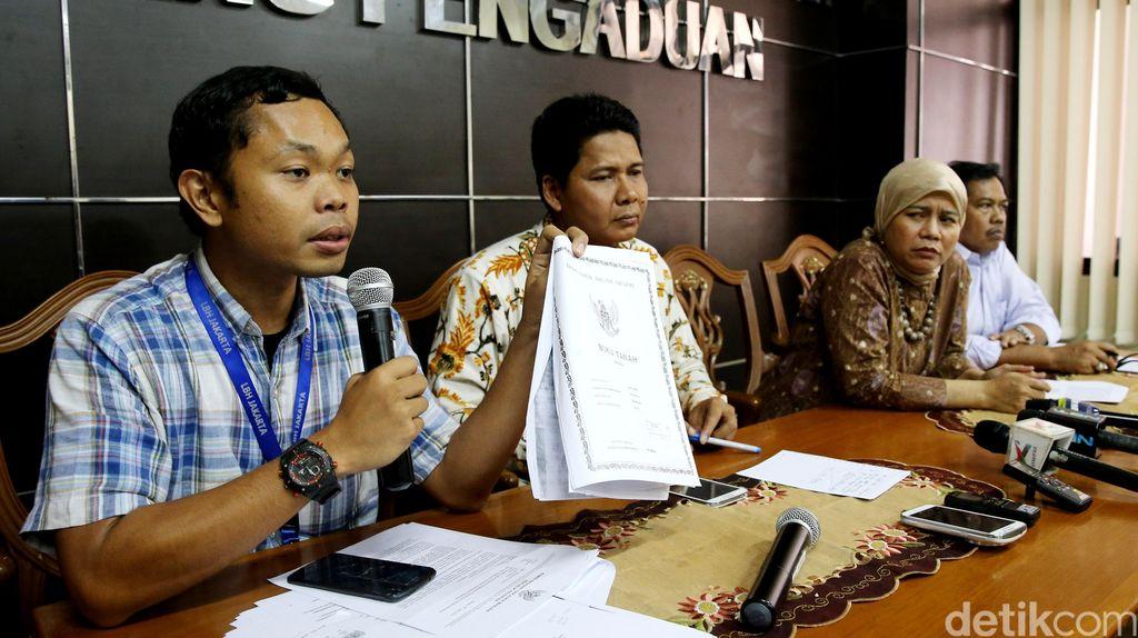 Warga Dadap Tangerang Mengadu ke Komnas HAM