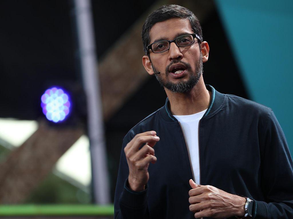 DPR AS ke Bos Google: Cari Idiot Kok Muncul Donald Trump?
