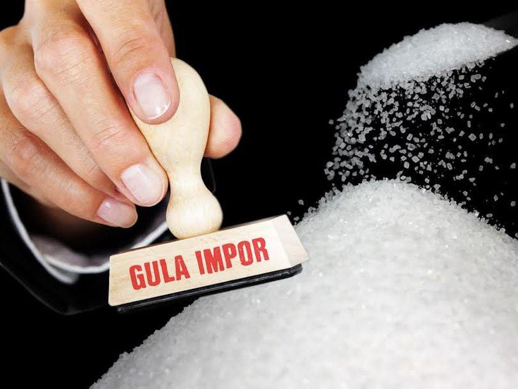 50.000 Ton Gula Impor Banjiri RI Pertengahan Mei