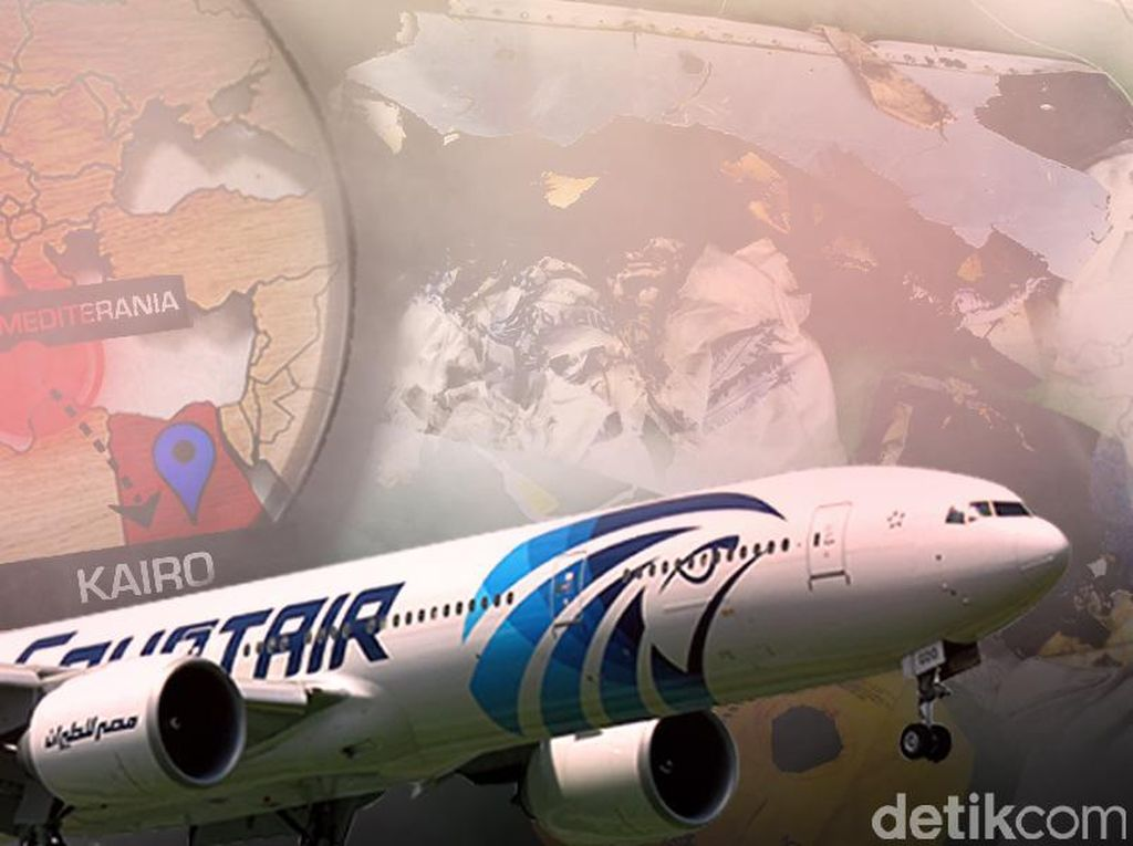 Hasil Penyelidikan Prancis: Jatuhnya EgyptAir Murni Kecelakaan