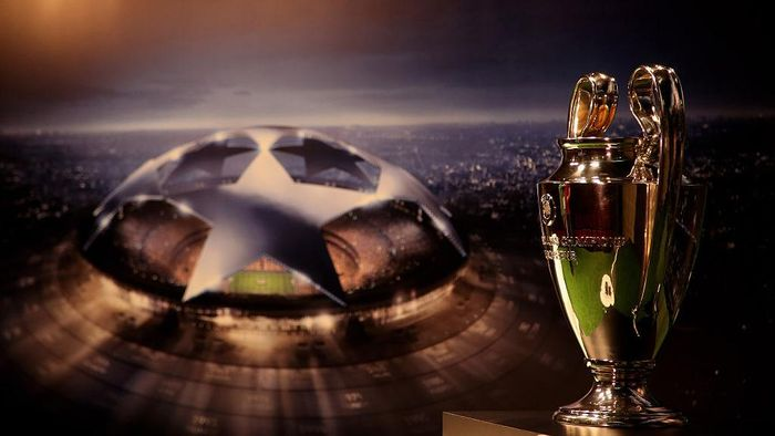 SAO PAULO, BRAZIL - MARCH 30:  A general view of  the UEFA Champions League Trophy during the UEFA Champions League Trophy Tour 2016 presented by Heineken on March 30, 2016 in Sao Paulo, Brazil.  (Photo by Friedemann Vogel/Getty Images)