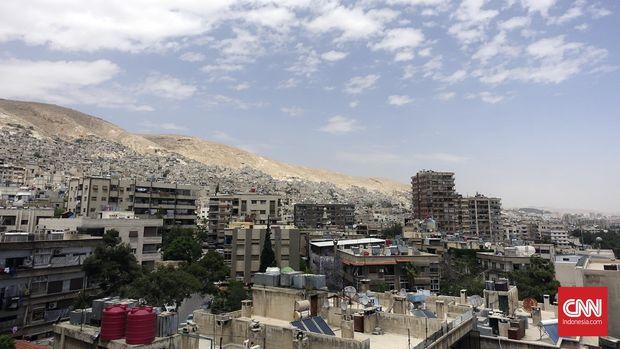 Kota Damaskus, Suriah. (CNN Indonesia/Ike Agestu)