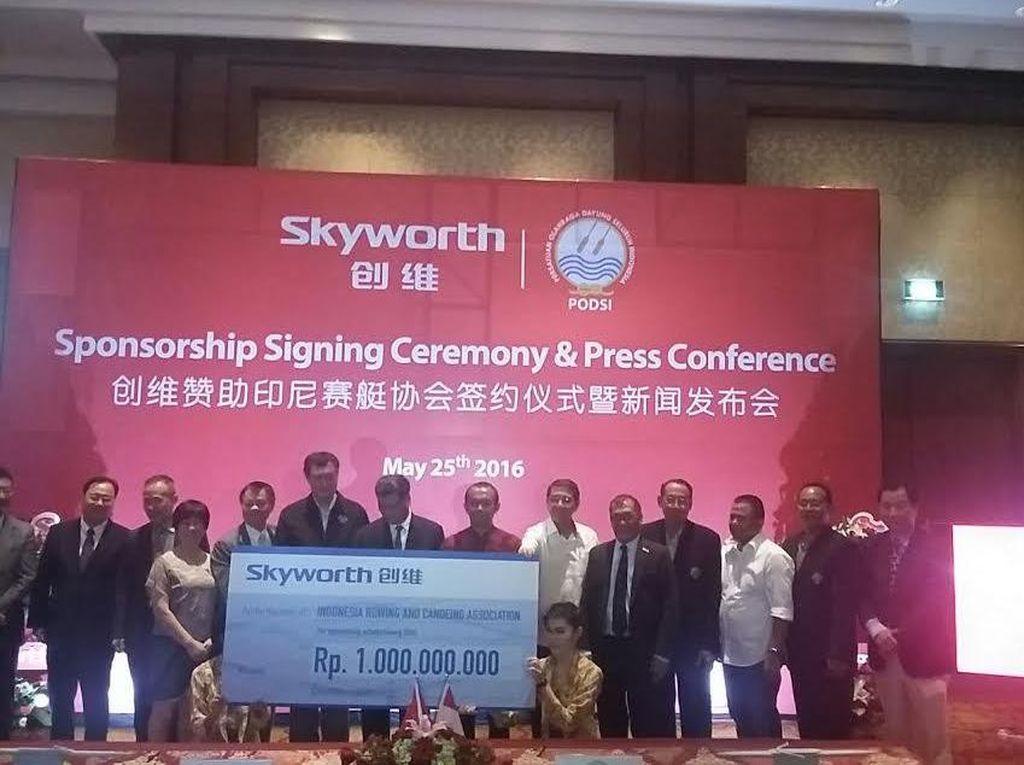 Dayung Indonesia Gaet Sponsor dari China