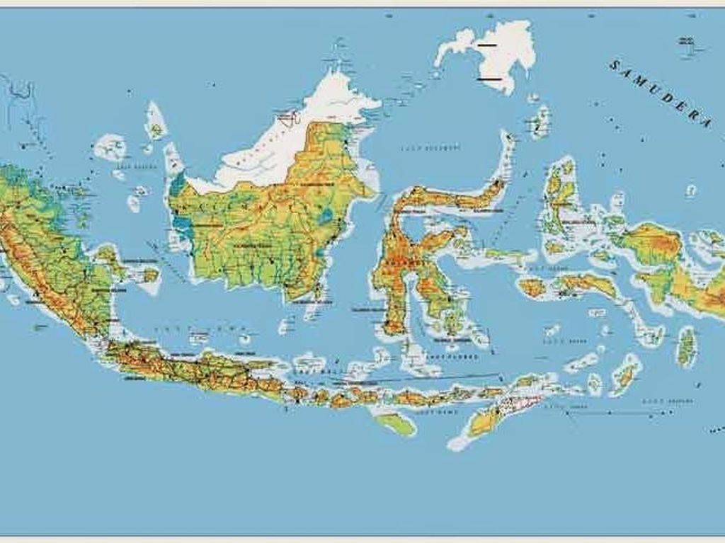 Kebijakan Satu Peta Jokowi Dirilis 17 Agustus 2018