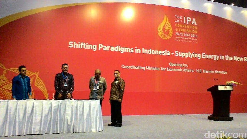 Darmin, Sudirman Said, dan Bos-bos Migas Kumpul di JCC Senayan