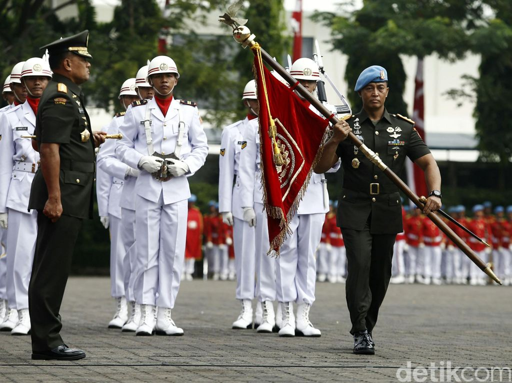 Jadi Dankodiklat TNI AD, Andika Perkasa Tatap Bintang Tiga