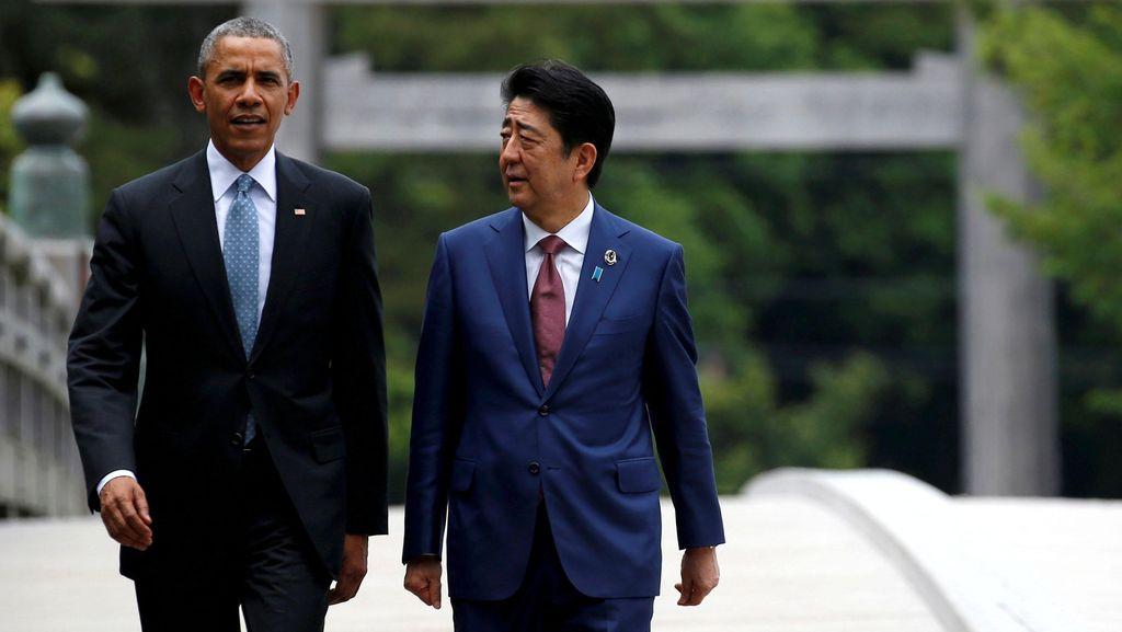 Presiden Obama dan PM Jepang Akan Kunjungi Pearl Harbor Akhir Desember Ini