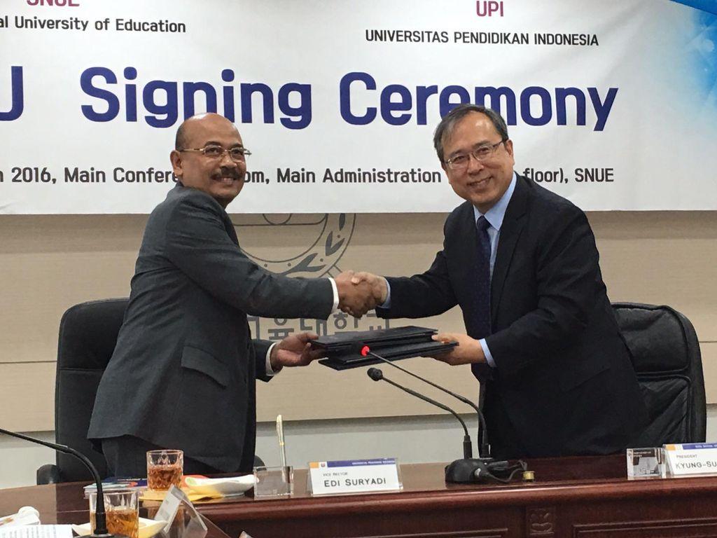 Tingkatkan Mutu Guru, UPI Gandeng Seoul National University of Education