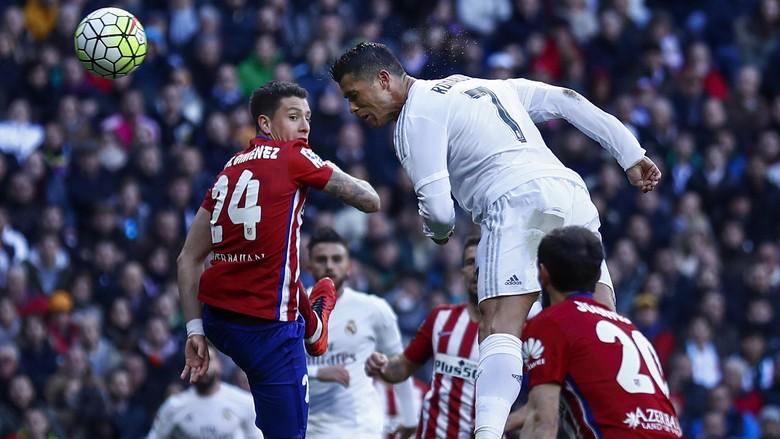 Tak Ada Ronaldo, Madrid Kini Selevel Atletico