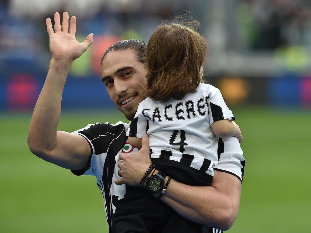 Caceres Bakal Berkostum Juventus untuk Ketiga Kalinya