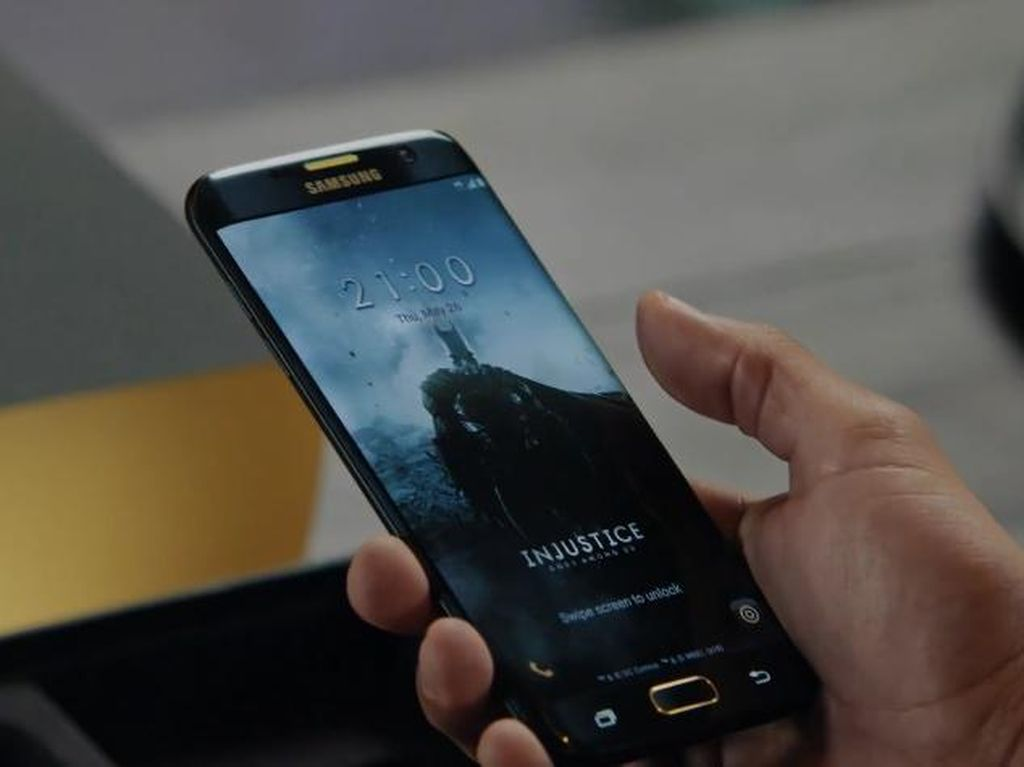 Galaxy S7 Edge Edisi Injustice Tampil Gagah