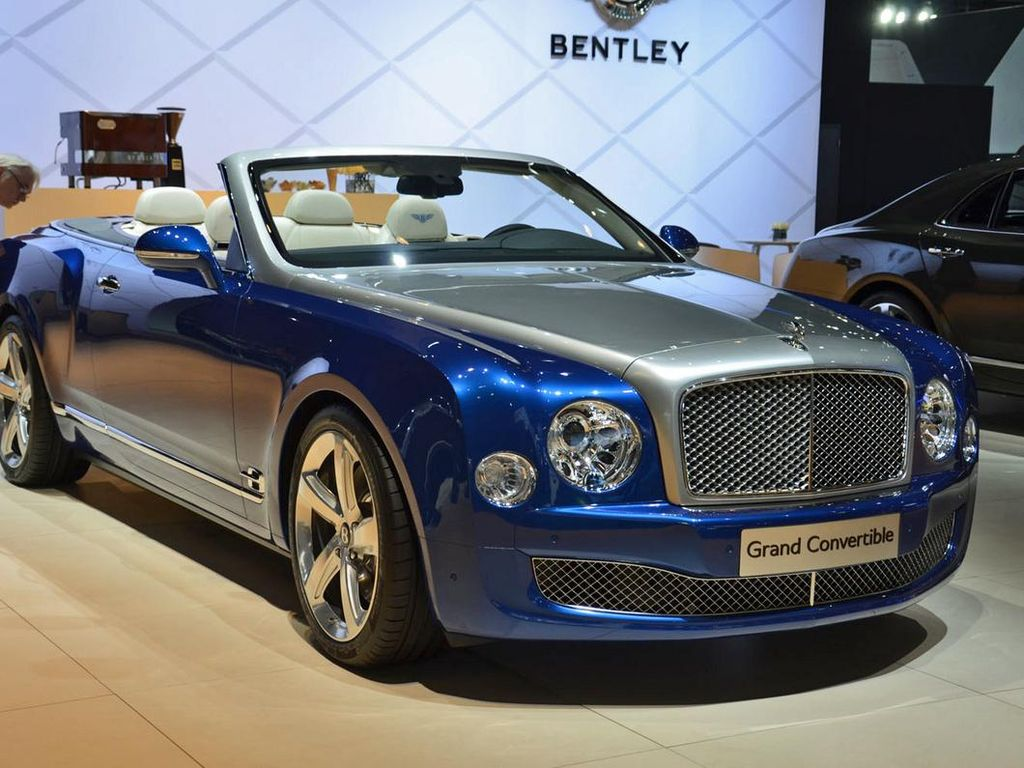Bentley Mulsanne Convertible Siap Produksi