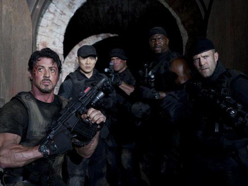 The Expendables dan Entourage di Bioskop Trans TV Rabu Malam