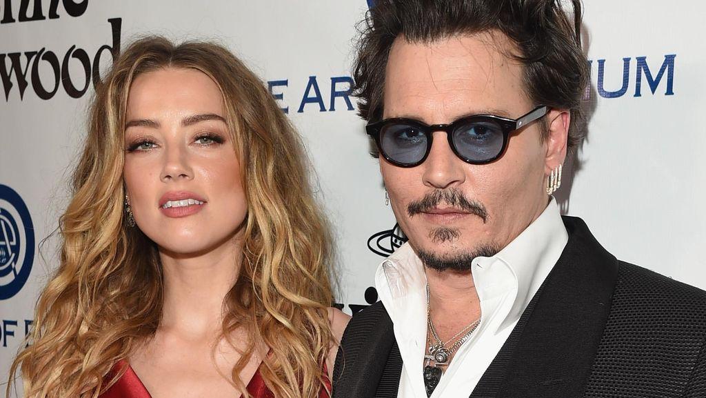 Cerita Baru dari Perceraian Johnny Depp-Amber Heard: Ada KDRT