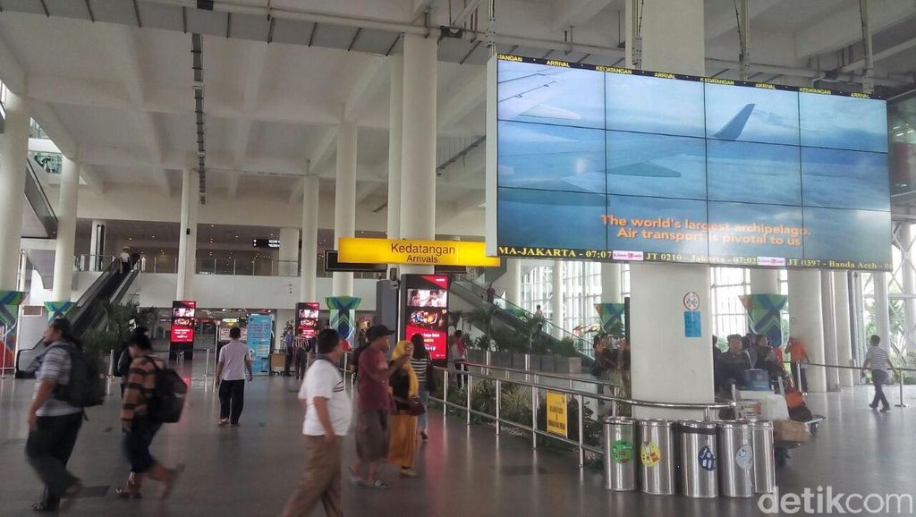 Pasca Gempa, Bandara Kualanamu Medan Tetap Beroperasi Normal