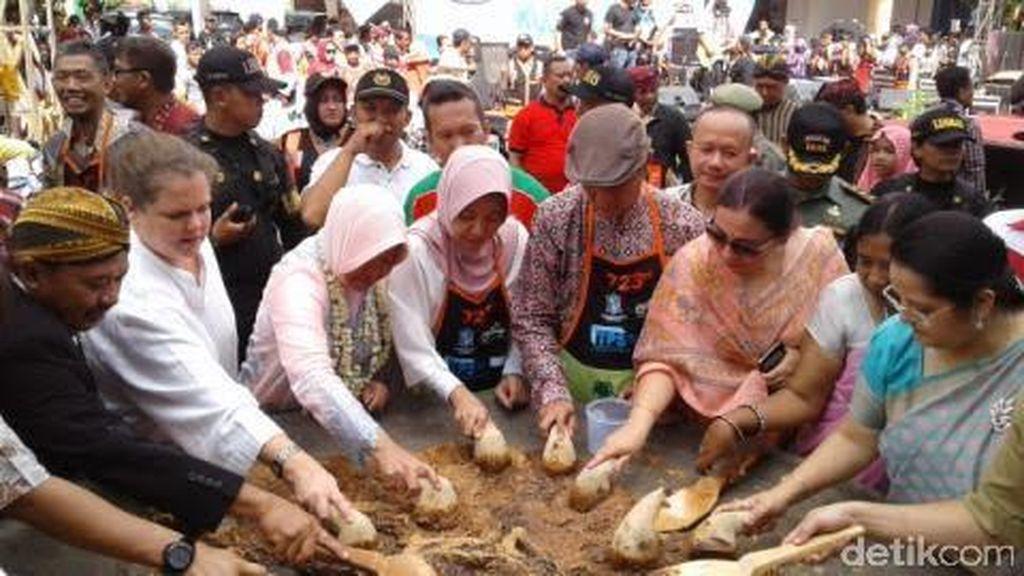 Akan ada Tumpeng Raksasa di Upacara HUT ke 723 Kota Surabaya