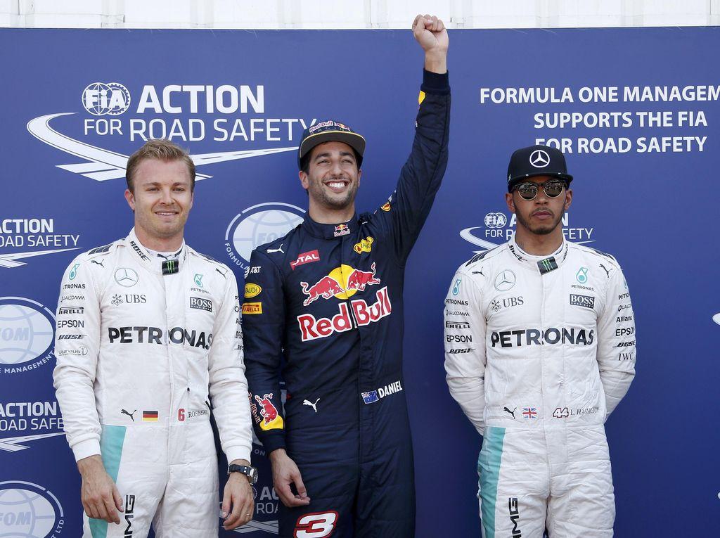 Nilai Ricciardo Pantas Start Terdepan, Rosberg Tetap Incar Kemenangan