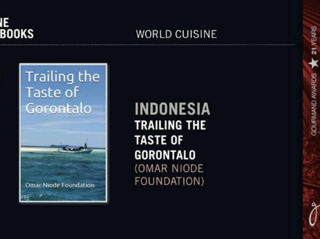 Trailing the Taste of Gorontalo Raih Gourmand World Cook Book Award 2016