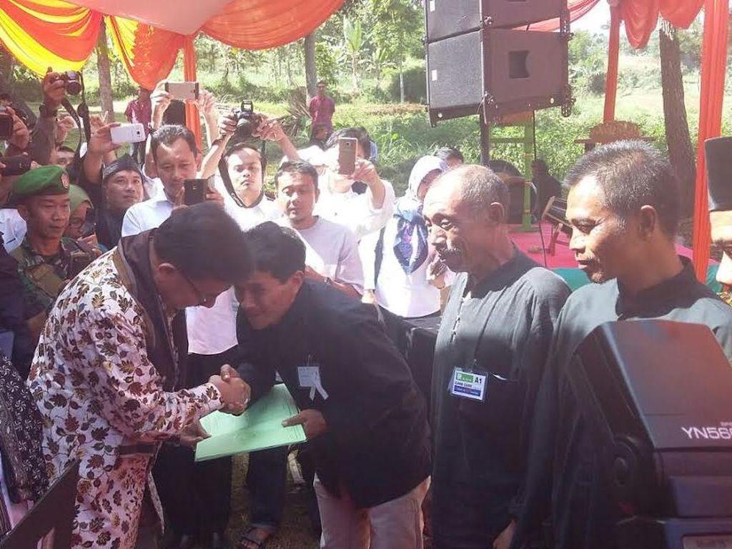 Tanah Negara Dilepas ke Petani di Bogor: Dilarang Dijual